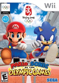 Mario and Sonic at the Olympic Games - Bordtennis