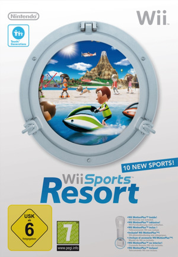 Wii Sports Resort - Bordtennis